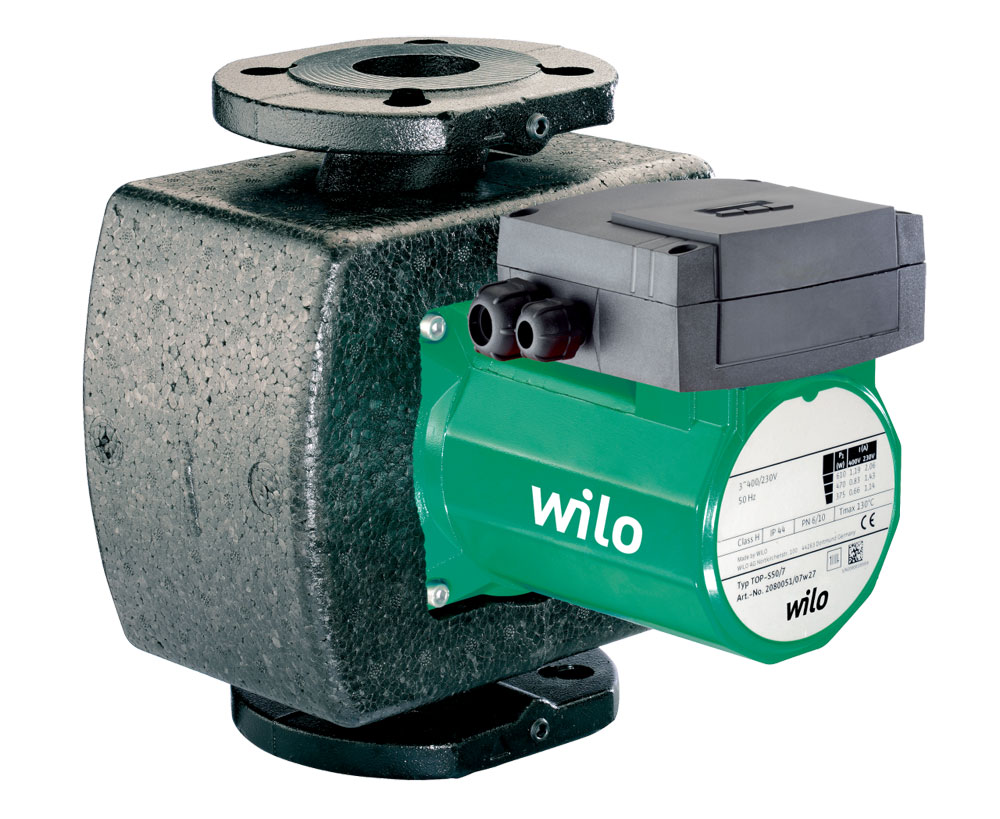Wilo-TOP-S 80/15 DM PN10 (3~400/230 V, PN 10)